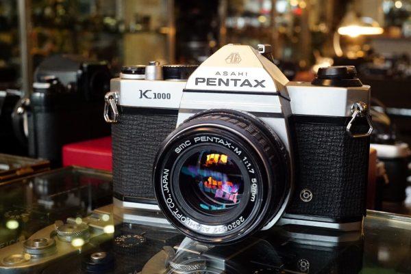 Pentax K1000 + SMC 50mm f/1.7 PKM