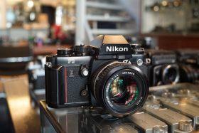 Nikon F3 + Nikkor 50mm f/1.4 AI