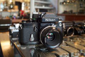 Nikon F2A Black + Nikkor 50mm f/2 AI