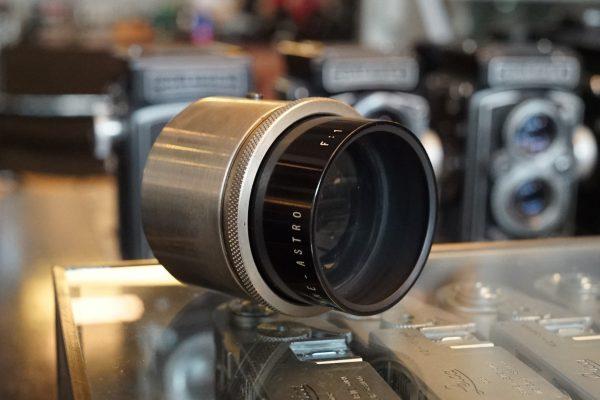 Astro F:1 / 50mm lens M36 screw mount