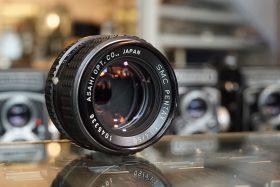 Pentax SMC-K 50mm f/1.4 PK