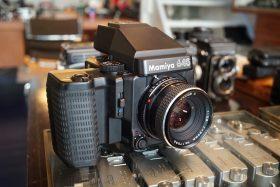 Mamiya 645 Super + AE Prism + Sekor C 80mm f/2.8