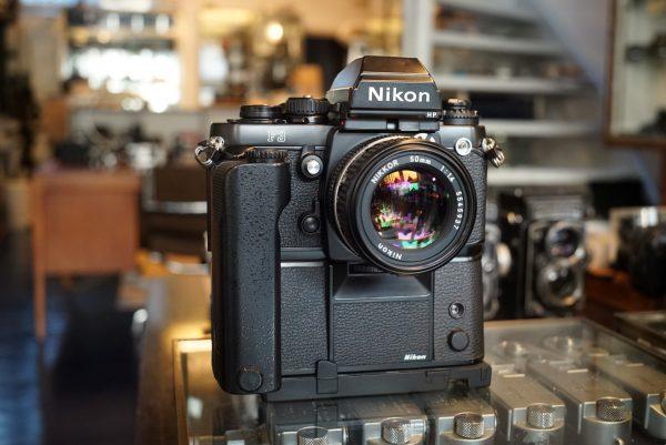 Nikon F3hp bundle with 3 Nikkor lenses