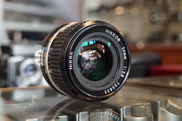 Nikon Nikkor 24mm f/2.8 AIS