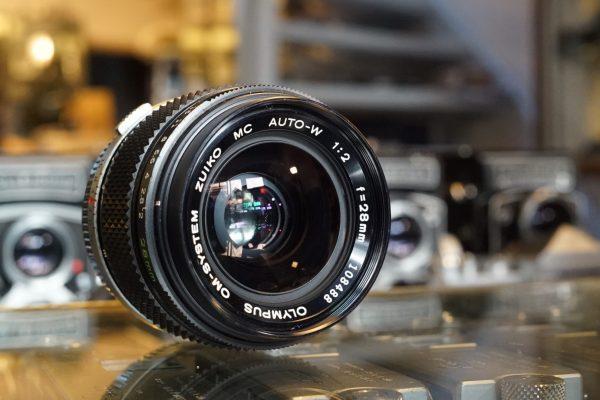 Olympus OM Zuiko 28mm f/2 MC