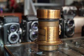 Darlot for Dubroni 16cm f/4 petzval lens