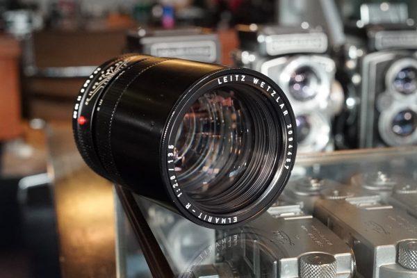 Leica Leitz Elmarit-R 135mm f/2.8 3cam