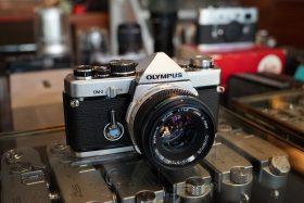 Olympus OM-2 + OM Zuiko 50mm f/1.8