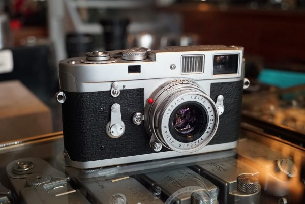 Leica M2 + Leitz Elmar 50mm f/2.8 M