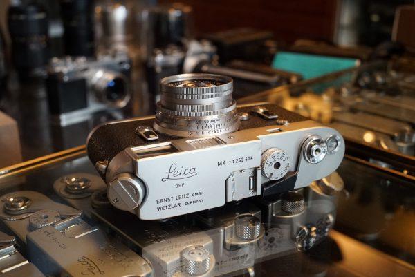 Leica M4 + Leitz Summicron 50mm f/2 M