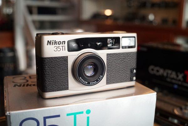 Nikon 35Ti w/ Nikkor 35mm f/2.8 Boxed