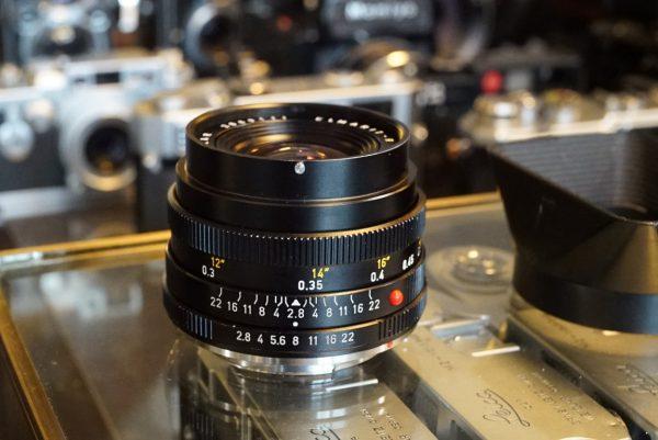 Leica Leitz Elmarit-R 35mm f/2.8 3cam