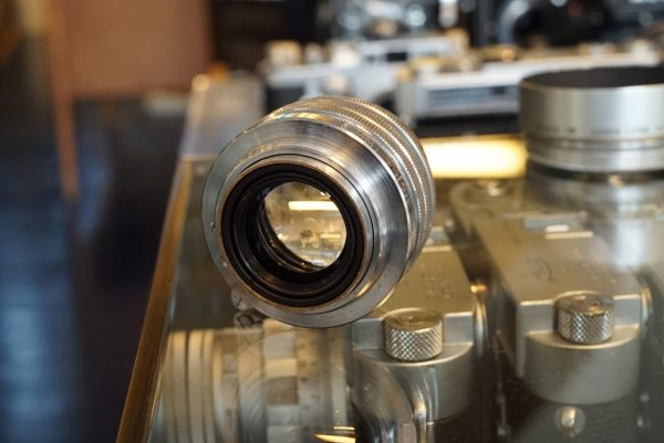 Canon 50mm f/1.5 LTM w/ Lens hood