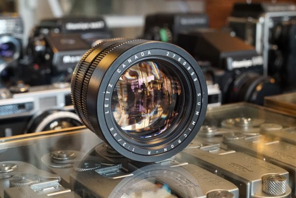 Leica Summicron-R 90mm f/2 Adapted to Canon EF