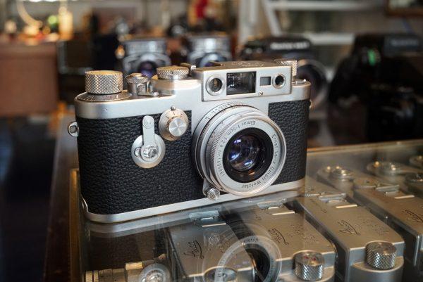 Leica IIIG + Elmar 5cm f/2.8 LTM