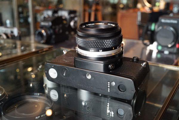 Olympus OM-3 + OM Zuiko 50mm f/1.8 MC