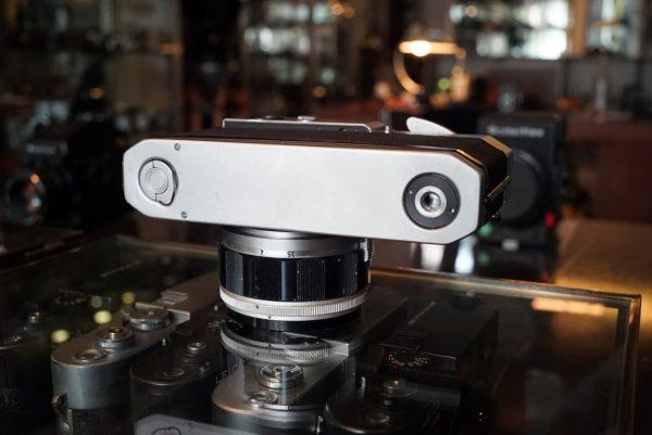 Canon 7 + 50mm f/1.2 LTM
