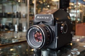 Mamiya M645J + PD Prism + Sekor C 80mm f/2.8