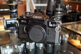 Canon F-1 lake placid 1980 body, defect