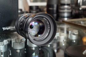 RESERVED: Voigtlander Nokton 1:1.5 / 50mm Asph, for Leica M