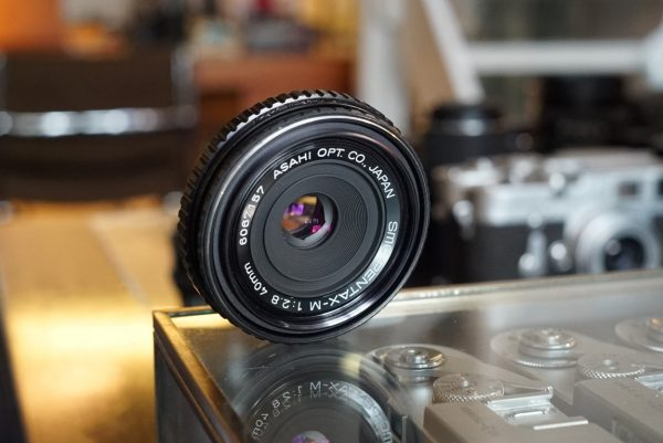 Pentax SMC-M 40mm f/2.8 PK