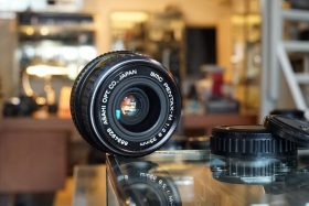 SMC Pentax-M 35mm f/2.8 PK mount lens