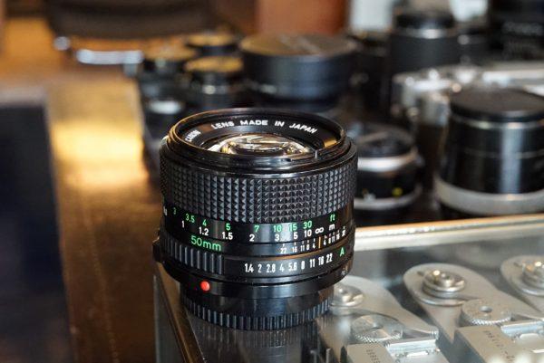Canon FD 50mm f/1.4 nFD