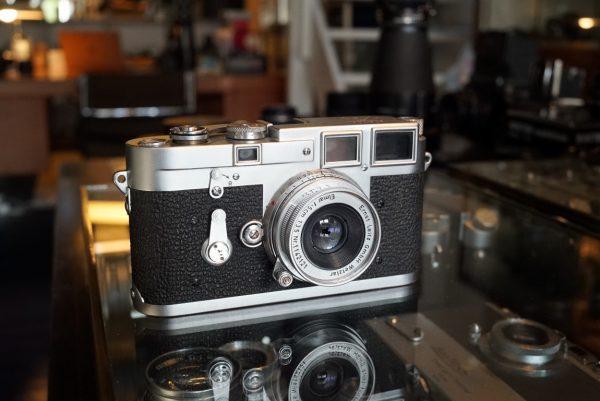 Leica M3 + Leitz Elmar 3.5 / 5m M lens