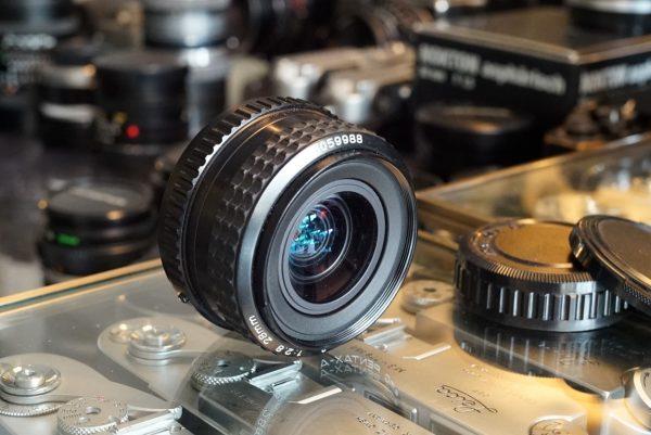 SMC Pentax-A 2.8 / 28mm wide angle lens PK