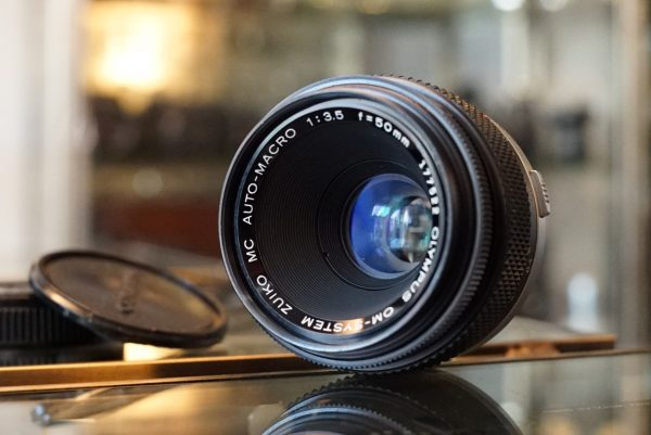 Olympus OM Zuiko Macro 50mm f/3.5 MC