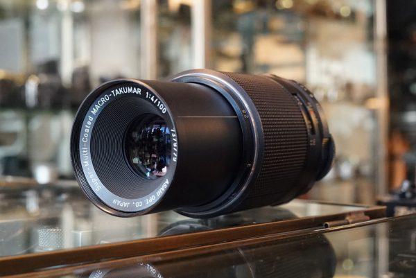 Pentax S-M-C Macro-Takumar 100mm f/4 M42