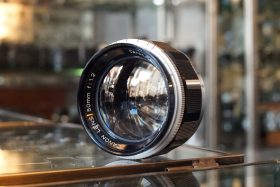 Canon 1:1.2 / 50mm, Leica screw mount