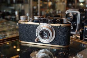 Leica I converted to IIf + Elmar 3.5 / 5cm
