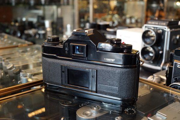Canon A-1 + Canon lens FD 1.8 / 50mm SC
