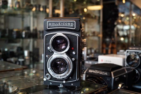 Rolleicord Vb w/ Schneider Xenar 75mm f/3.5