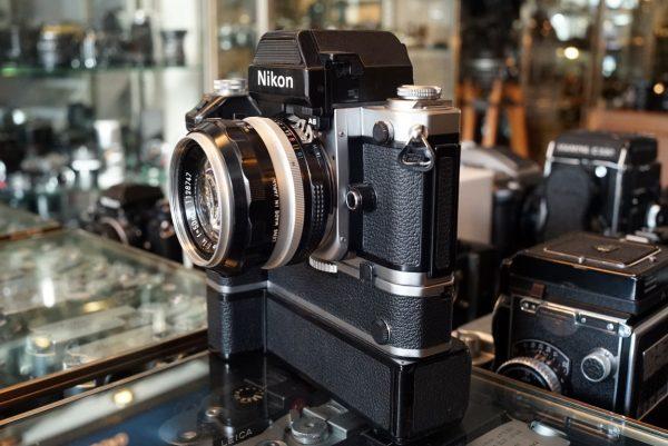 Nikon F2AS + Nikkor-S 1:1.4 / 50mm + Motor