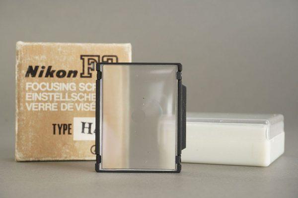 Nikon F3 focusing screen H4, Boxed