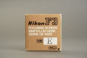 Nikon F3 focusing screen E, Boxed