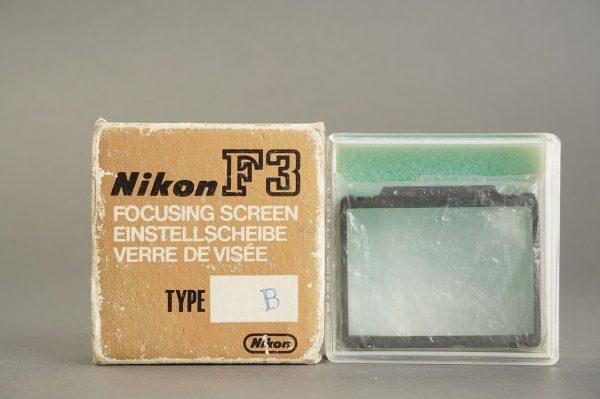Nikon F3 focusing screen type B, in box