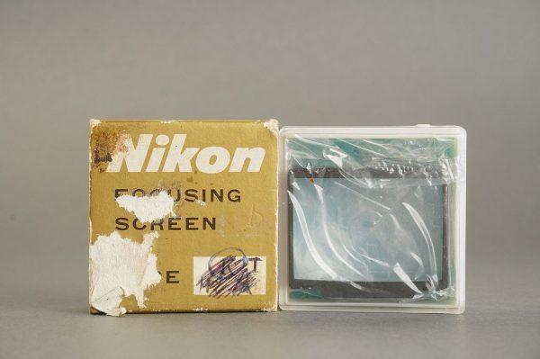 Nikon F3 focusing screen T, Boxed