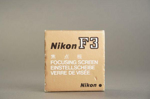 Nikon F3 focusing screen K, boxed (box incorrect)