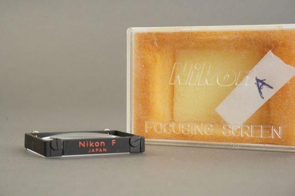 Nikon F / F2 focusing screen Type A, in case