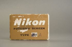 Nikon F / F2 focusing screen Type A, in case, boxed