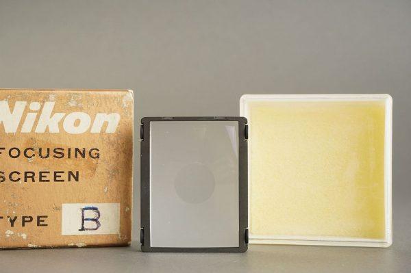 Nikon F / F2 focusing screen Type B, in case, boxed