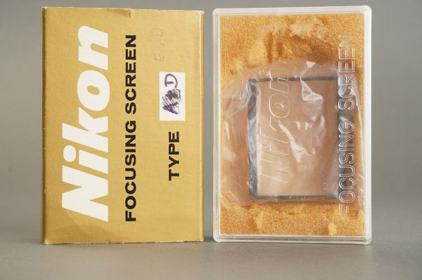 Nikon F / F2 focusing screen Type D, in case, boxed