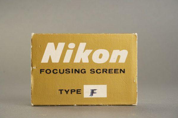 Nikon F / F2 focusing screen Type F, in case, boxed