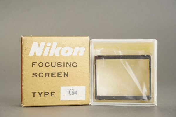Nikon F / F2 focusing screen Type G4, in case, boxed