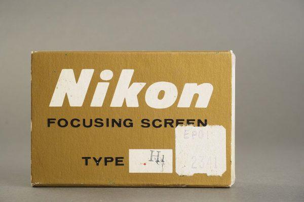 Nikon F / F2 focusing screen Type H1, in case, boxed