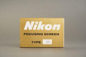 Nikon F / F2 focusing screen Type H3, in case, boxed
