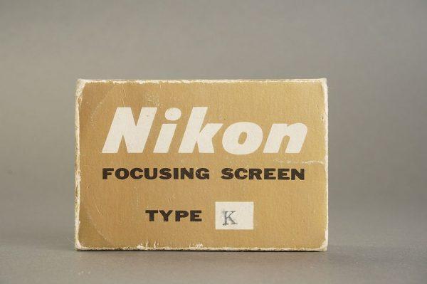 Nikon F / F2 focusing screen Type K, in case, boxed